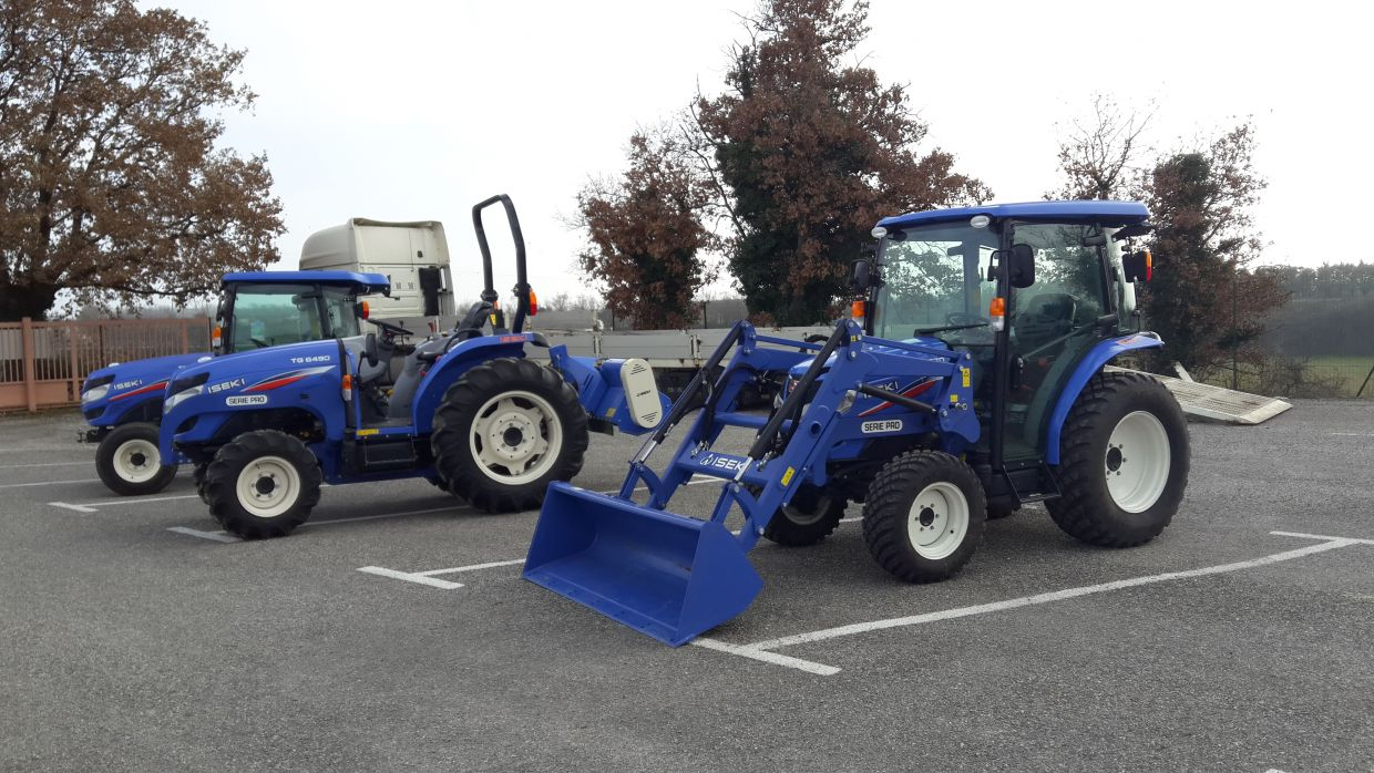 Micro tracteur compact