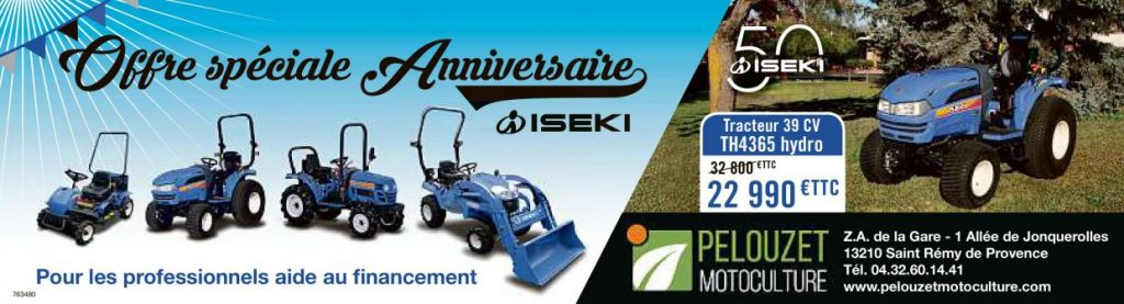 Iseki Tracteur TH