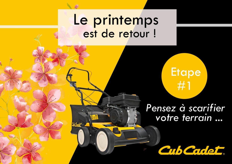Le traitement de beauté de votre pelouse !!!
