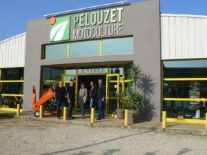 Personnel de l'entreprise Pelouzet Motoculture