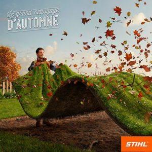 Le grand nettoyage d'automne avec Stihl