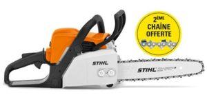 MS 170 Stihl offre 2 ème chaîne gratuite