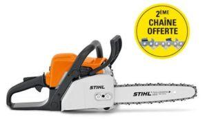 MS 180 Stihl offre 2ème chaîne offerte