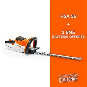 taille haie HSA 56