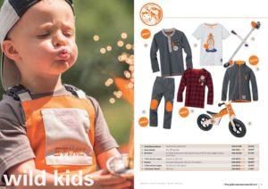 Catalogue Stihl vêtements enfants