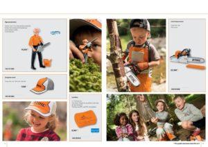 Catalogue Stihl pour les enfants