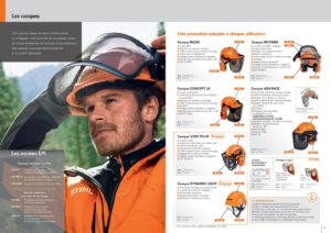 Casque de protection EPI Stihl