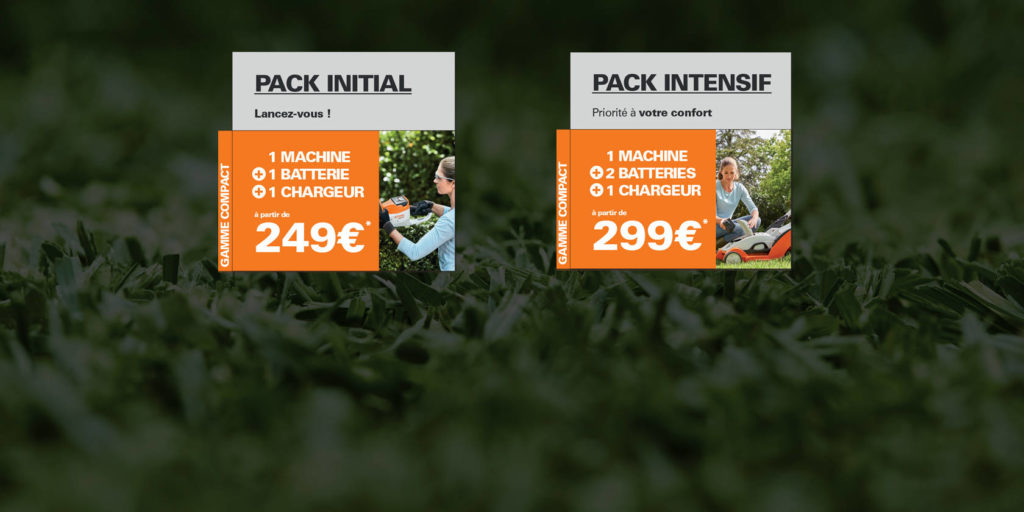 Offre pack compact stihl