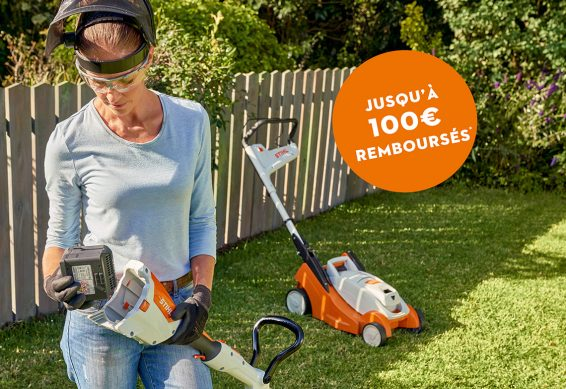 offre stihl gamme batterie compact